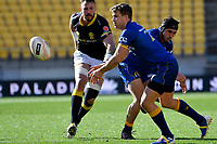 Michael Collins of Otago in action during the Mitre 10 Cup - Wellington  v Otago at Westpac Stadium, Wellington, New Zealand on Sunday 15 September 2019. <br /> Photo by Masanori Udagawa <br /> www.photowellington.photoshelter.com