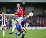 Sheffield United's Matt Done in action during the League One match at the Kingsmeadow Stadium, London. Picture date: September 10th, 2016. Pic David Klein/Sportimage