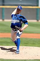 Jordan Pratt - Los Angeles Dodgers - 2009 spring training.Photo by:  Bill Mitchell/Four Seam Images