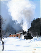 D&amp;SNG #478 leading the Silverton train through the snow to Cascade Wye.<br /> D&amp;SNG  Silverton Branch, CO