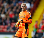 Adam Davies of Barnsley during the Championship League match at Bramall Lane Stadium, Sheffield. Picture date 19th August 2017. Picture credit should read: Simon Bellis/Sportimage