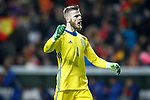 Israel's David De Gea celebrates goal during FIFA World Cup 2018 Qualifying Round match. March 24,2017.(ALTERPHOTOS/Acero)