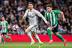 Cristiano Ronaldo of Real Madrid is followed by Alin Tosca of Real Betis during their La Liga match between Real Madrid and Real Betis at the Santiago Bernabeu Stadium on 12 March 2017 in Madrid, Spain. Photo by Diego Gonzalez Souto / Power Sport Images