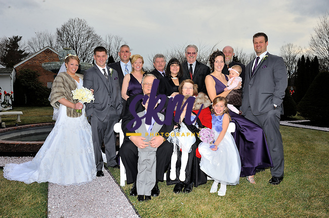 The wedding of Stefanie Meyerson & Clayton Beard.