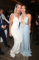 BEVERLY HILLS, CA - JANUARY 06: Arielle Kebbel and Gina Rodriguez at the Amazon Prime Video's Golden Globe Awards After Party at The Beverly Hilton Hotel on January 6, 2019 in Beverly Hills, California. Credit: Faye Sadou/MediaPunch<br /> CAP/MPI/FS<br /> &copy;FS/MPI/Capital Pictures