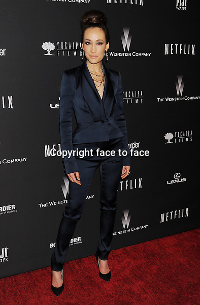BEVERLY HILLS, CA- JANUARY 12: Actress Maggie Q attends The Weinstein Company &amp; Netflix 2014 Golden Globes After Party held at The Beverly Hilton Hotel on January 12, 2014 in Beverly Hills, California.<br /> Credit: Mayer/face to face<br /> - No Rights for USA, Canada and France -