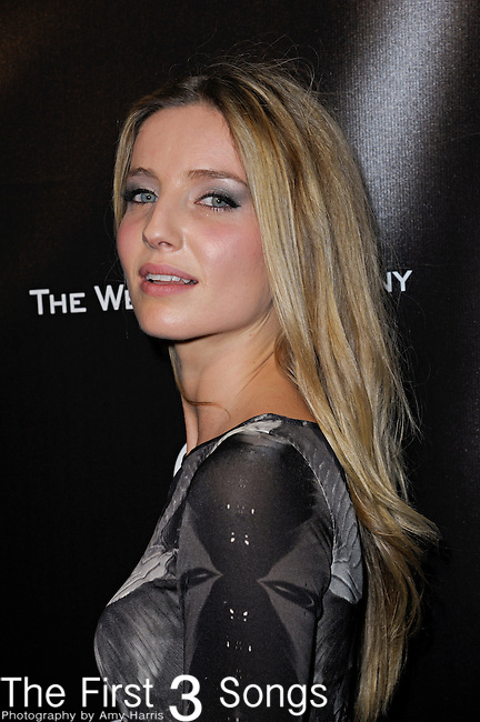 Annabelle Wallis attends the 2012 Weinstein Company Golden Globes After Party at The Beverly Hilton Hotel in Beverly Hills, CA on January 15, 2012.