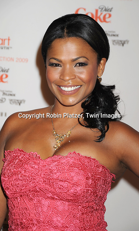 Nia Long in Tracy Reese dress..at The Heart Truth's Red Dress Fashion Show on February 12, 2009 at Mercedes Benz FAshion Week. Swarovski was one of the sponsers for this show. ....Robin Platzer, Twin Images