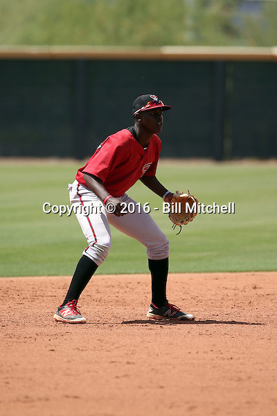 Jazz Chisholm - Arizona Diamondbacks 2016 extended spring training (Bill Mitchell)