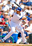 11 March 2007: Los Angeles Dodgers infielder James Loney in action against the Washington Nationals at Holman Stadium in Vero Beach, Florida. <br /> <br /> Mandatory Photo Credit: Ed Wolfstein Photo