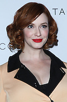 WEST HOLLYWOOD, CA - OCTOBER 08: Actress Christina Hendricks arrives at the Club Tacori 2013 Event held at Greystone Manor Supperclub on October 8, 2013 in West Hollywood, California. (Photo by David Acosta/Celebrity Monitor)