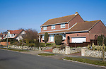 Large private houses in Frinton on Sea, Essex, England