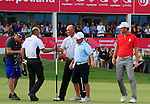 Thomas Bjorn (DEN) in action during the final round of the Commercialbank Qatar Masters presented by Dolphin Energy played at Doha Golf Club, Doha, Qatar on 4th February 2011..Picture: Phil Inglis / www.golffile.ie.