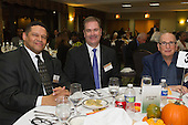 The Hyde Park Chamber of Commerce held its 96th Annual Anniversary Dinner Thursday evening at the LaQuinta Inn and Suites located at 4900 S. Lake Shore Drive.<br /> <br /> 7658 &ndash; Hyde Park Bank staff members, Dante Mosely, Year of Civic Service honoree, Mike McGarry and Howard Cohn<br /> <br /> Please 'Like' &quot;Spencer Bibbs Photography&quot; on Facebook.<br /> <br /> All rights to this photo are owned by Spencer Bibbs of Spencer Bibbs Photography and may only be used in any way shape or form, whole or in part with written permission by the owner of the photo, Spencer Bibbs.<br /> <br /> For all of your photography needs, please contact Spencer Bibbs at 773-895-4744. I can also be reached in the following ways:<br /> <br /> Website &ndash; www.spbdigitalconcepts.photoshelter.com<br /> <br /> Text - Text &ldquo;Spencer Bibbs&rdquo; to 72727<br /> <br /> Email &ndash; spencerbibbsphotography@yahoo.com