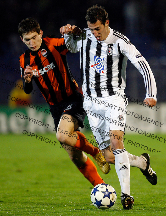 Radosav Petrovic, UEFA Champions League match, Group H, Partizan Belgrade vs Shakhtar Donetsk,  Belgrade, Serbia, Tuesday, 23. November 2010. (credit & photo: Pedja Milosavljevic / +381 64 1260 959 / thepedja@gmail.com)