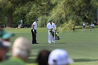 Phil Mickelson (USA) on the 7th fairway during the 1st round at the The Masters , Augusta National, Augusta, Georgia, USA. 11/04/2019.<br /> Picture Fran Caffrey / Golffile.ie<br /> <br /> All photo usage must carry mandatory copyright credit (&copy; Golffile | Fran Caffrey)
