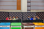 The featured match section with pro players. <br /> <br /> <br /> Magic The Gathering Grand Prix, Washington DC. <br /> <br /> Danny Ghitis for Bloomberg Businessweek