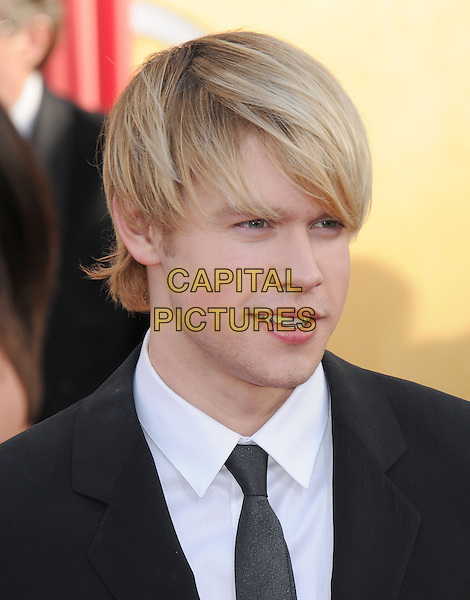 CHORD OVERSTREET.17th Annual Screen Actors Guild Awards held at The Shrine Auditorium, Los Angeles, California, USA..January 30th, 2011.arrivals SAG headshot portrait black white tie grey gray.CAP/RKE/DVS.©DVS/RockinExposures/Capital Pictures.
