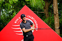 Lucas Bjerregaard (DEN) on the 9th tee during the 2nd round at the WGC HSBC Champions 2018, Sheshan Golf CLub, Shanghai, China. 26/10/2018.<br /> Picture Fran Caffrey / Golffile.ie<br /> <br /> All photo usage must carry mandatory copyright credit (&copy; Golffile | Fran Caffrey)