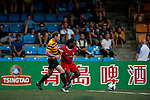 Nottingham Forest Mobsters vs Singapore Cricket Club Tigers during the Day 2 of the HKFC Citibank Soccer Sevens 2014 on May 24, 2014 at the Hong Kong Football Club in Hong Kong, China. Photo by Xaume Olleros / Power Sport Images