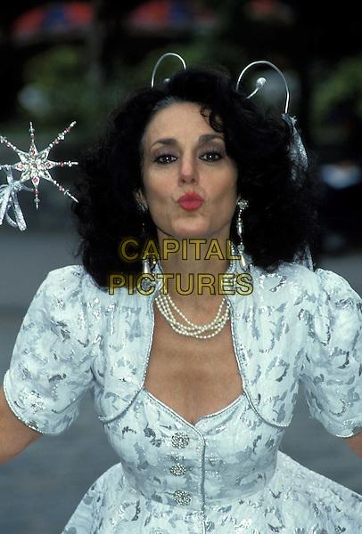 LESLEY JOSEPH.Ref: 158.www.capitalpictures.com.sales@capitalpictures.com.©Capital Pictures.blowing kiss, fairy