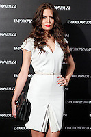 Clara Alonso attends the Emporio Armani Boutique opening at Serrano street in Madrid, Spain. April 08, 2013. (ALTERPHOTOS/Caro Marin) /NortePhoto