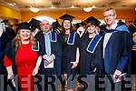 Catherine Courtney (Keel, Castlemaine) Thomas O'Connor (Castleisland), Alex Buhl (Tralee) and Bridget Walsh (Killarney), who graduated with a Certificate in Culinary Skills pictured with TJ O'Connor (Lecturer), at the IT Tralee graduation ceremony on Friday last held at the Brandon Hotel Conference Centre, Tralee.
