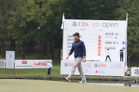 Ricardo Gouveia (POR) on the 18th green during Round 3 of the UBS Hong Kong Open, at Hong Kong golf club, Fanling, Hong Kong. 25/11/2017<br /> Picture: Golffile | Thos Caffrey<br /> <br /> <br /> All photo usage must carry mandatory copyright credit     (&copy; Golffile | Thos Caffrey)