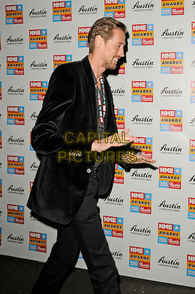 LONDON, ENGLAND - FEBRUARY 18: Peter Crouch attending the NME Awards at Brixton Academy on February 18 2015 in London, England.<br /> CAP/MAR<br /> &copy; Martin Harris/Capital Pictures