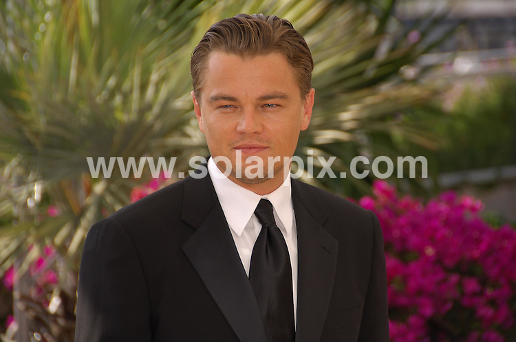 **ALL ROUND PICTURES FROM SOLARPIX.COM**.**WORLDWIDE SYNDICATION RIGHTS**.Leonardo DiCaprio at the 60th Cannes Film Festival to promote his feature length documentary 11th Hour highlighting the dangers of global warming.  .JOB REF:   3964     MSR    DATE:  19.05.07.**MUST CREDIT SOLARPIX.COM OR DOUBLE FEE WILL BE CHARGED* *UNDER NO CIRCUMSTANCES IS THIS IMAGE TO BE REPRODUCED FOR ANY ONLINE EDITION WITHOUT PRIOR PERMISSION*