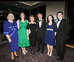 21/2/2015.   Attending the Lions Club 50th Anniversary Ball in the Strand Hotel were Lena and Noel Sexton, President(centre), Caherdavin with their family Jocelyn Sexton, Adare, Emily Sexton, Caherdavin,  Harriett and Keith Morel, Dooradoyle. .<br /> Photograph Liam Burke/Press 22