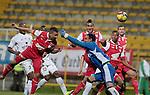 BOGOTÁ – COLOMBIA _ 14-03-2014 / En juego correspondiente a la fecha 11 del Torneo Apertura Colombiano 2014, Equidad cayó 0 – 2 ante Independiente Santa Fe en el estadio metropolitano de Techo. /