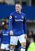9th September 2017, Goodison Park, Liverpool, England; EPL Premier League Football, Everton versus Tottenham; Wayne Rooney of Everton looks on as his team trail 0-3