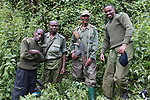 Gorilla Tracking Team