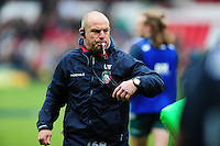 Leicester Tigers Director of Rugby Richard Cockerill in action during the pre-match warm-up. European Rugby Champions Cup semi final, between Leicester Tigers and Racing 92 on April 24, 2016 at The City Ground in Nottingham, England. Photo by: Patrick Khachfe / JMP