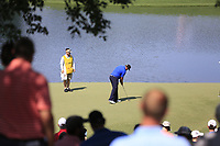 Andrew Johnson (ENG) putts on the 14th green during Thursday's Round 1 of the 2017 PGA Championship held at Quail Hollow Golf Club, Charlotte, North Carolina, USA. 10th August 2017.<br /> Picture: Eoin Clarke | Golffile<br /> <br /> <br /> All photos usage must carry mandatory copyright credit (&copy; Golffile | Eoin Clarke)