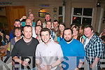 Diarmuid Sugrue, Doon, and Dave O'Regan, Ballyroe (front 1st & 2nd left) had a great night in Stoker's Lodge, Tralee celebrating their 30th birthdays surrounded by many friends and family.