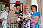 Sheila Riordan, Sue McDonoghue, Ann Marie O'Leary, Mary O'Connor and Margaret O'Sullivan at the South Kerry Multiple Scolorosis branch coffee morning held in the Killarney Royal Hotel on Saturday morning
