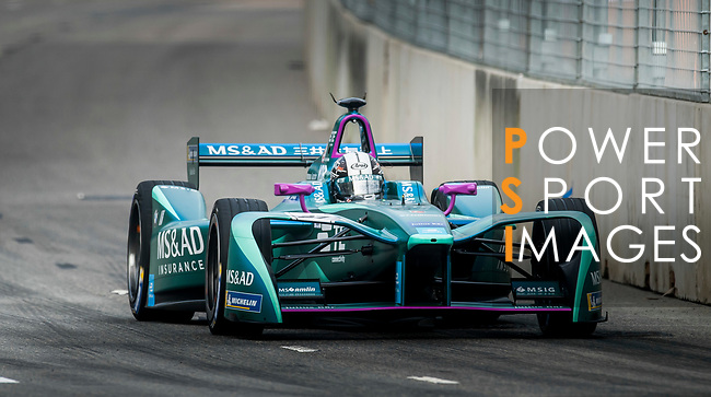 Kamui Kobayashi of Japan from MS & AD Andretti Formula E on track at the Formula E Non-Qualifying Practice 3 during the FIA Formula E Hong Kong E-Prix Round 2 at the Central Harbourfront Circuit on 03 December 2017 in Hong Kong, Hong Kong. Photo by Marcio Rodrigo Machado / Power Sport Images