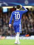 Chelsea's Eden Hazard scratches his head after a misplaced pass<br /> <br /> UEFA Champions League - Chelsea v FC Porto - Stamford Bridge - England - 9th December 2015 - Picture David Klein/Sportimage