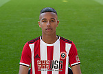 Kyron Gordon during the U23 2019/20 Photocall at Bramall Lane, Sheffield. Picture date: 17th September 2019. Picture credit should read: Simon Bellis/Sportimage