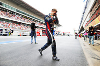 MONTMELO, ESPANHA, 10 DE MAIO DE 2013 - O piloto alemão Sebastian Vettel durante treino para o GP da Espanha de Fórmula 1 no circuito da Catalunha, em Montmelo, perto de Barcelona, Espanha, nesta sexta-feira, 10. FOTO: PIXATHLON / BRAZIL PHOTO PRESS.