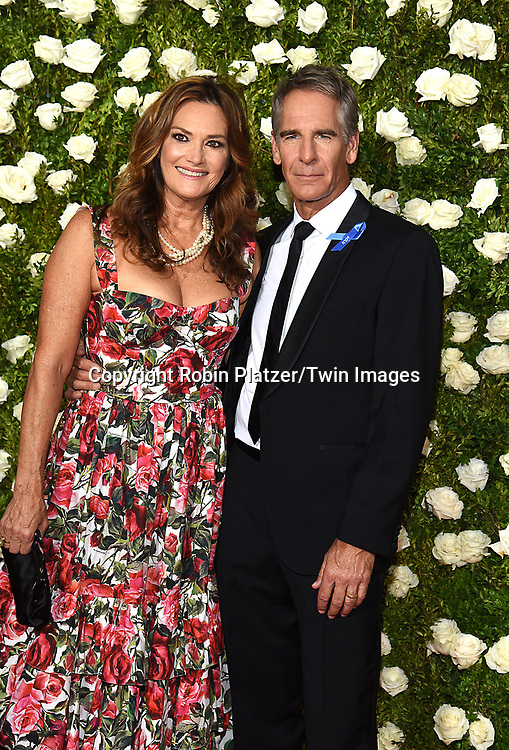 Chelsea Field and husband Scott Bakula attends the 71st Annual  Tony Awards on June 11, 2017 at Radio City Music Hall in New York, New York, USA.<br /> <br /> photo by Robin Platzer/Twin Images<br />  <br /> phone number 212-935-0770