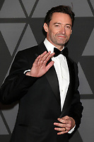 HOLLYWOOD, CA - NOVEMBER 11: Hugh Jackman at the AMPAS 9th Annual Governors Awards at the Dolby Ballroom in Hollywood, California on November 11, 2017. Credit: David Edwards/MediaPunch /NortePhoto.com