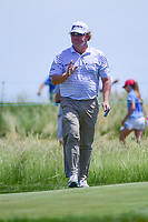 William McGirt (USA) after sinking his putt on 11 during Thursday's round 1 of the 117th U.S. Open, at Erin Hills, Erin, Wisconsin. 6/15/2017.<br /> Picture: Golffile | Ken Murray<br /> <br /> <br /> All photo usage must carry mandatory copyright credit (&copy; Golffile | Ken Murray)