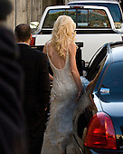 Washington, DC - December 1, 2009 -- Michaele Salahi departs the Halcyon House in the Georgetown neighborhood of Washington, D.C. after a photo shoot on Tuesday, December 1, 2009..Credit: Ron Sachs / CNP.(RESTRICTION: NO New York or New Jersey Newspapers or newspapers within a 75 mile radius of New York City)
