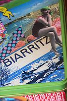 France, Aquitaine, Pyrénées-Atlantiques, Pays Basque, Biarritz: Créations de  Kiki Ritz Créatrice de Mode : Kikiritz //  France, Pyrenees Atlantiques, Basque Country, Biarritz: Créations by  Kiki Ritz Creative mode, stylist