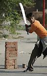 Stadsgezichten India en Pakistan 2004