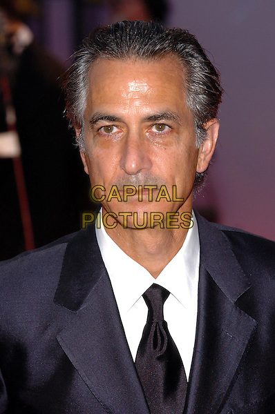 "DAVID STRATHAIRN.62nd International Film Festival,.At the premiere of ""Good Night, And Good Luck"".Venice, 1st September 2005.portrait headshot La Bienale suit tie .www.capitalpictures.com.sales@capitalpictures.com.© Capital Pictures."