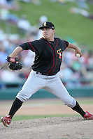 May 25, 2008: Quad Cities River Bandits pitcher Matt Spade (39) makes a pitch against the Kane County Cougars at Elfstrom Stadium in Geneva, IL. Photo by: Chris Proctor/Four Seam Images